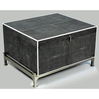Hepburn Shagreen on Stand Coffee Table