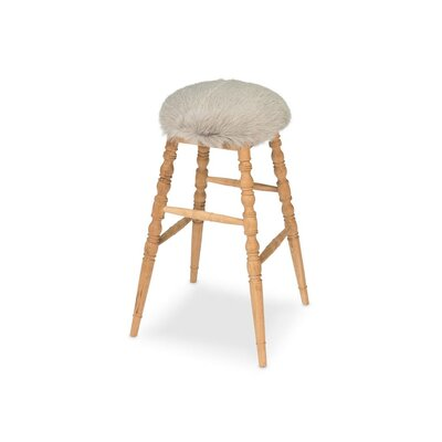 Winoma 30 Bar Stool Upholstery: Gray