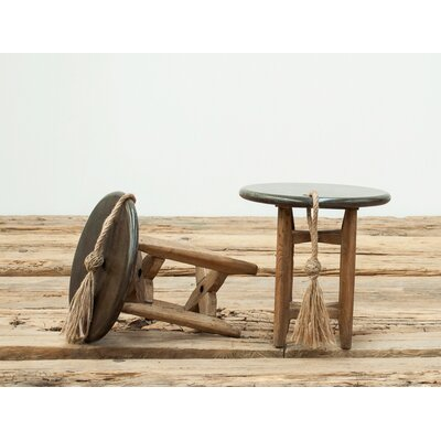 Wine and Cheese End Table Finish: Black