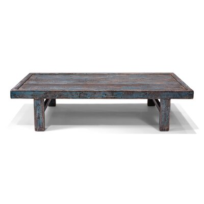Wood Panel Coffee Table