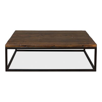 Brick Makers Boards Coffee Table