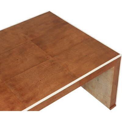 Low Shagreen Coffee Table