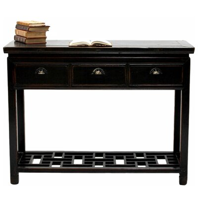 Ming Style Console Table with Drawer