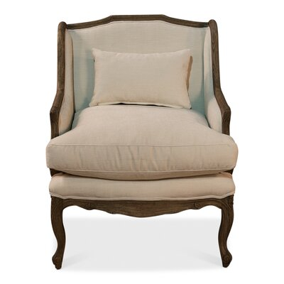 Elliot Salon Wingback Chair