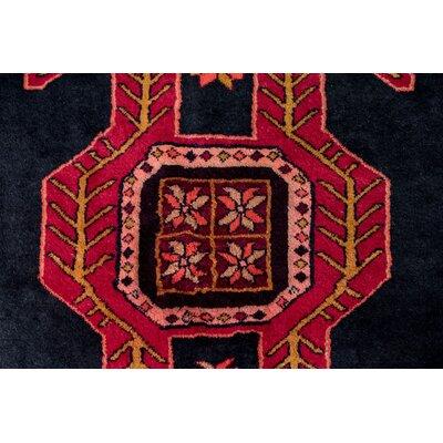 Oriental Red/Black Area Rug