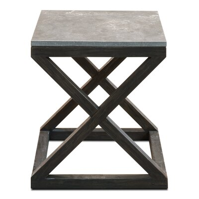 Lewis Cross End Table