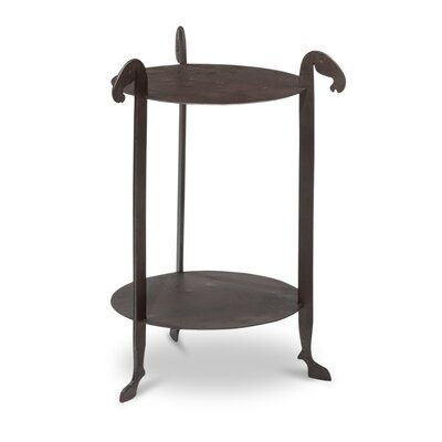 Forged Horse Leg End Table