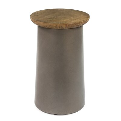 Malina Drum End Table