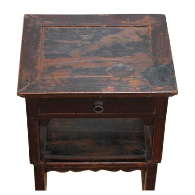 Antique Ming Style End Table