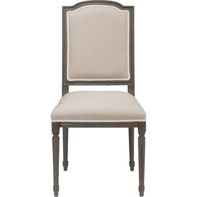 Louis Xvi Squared Upholstered Dining Chair