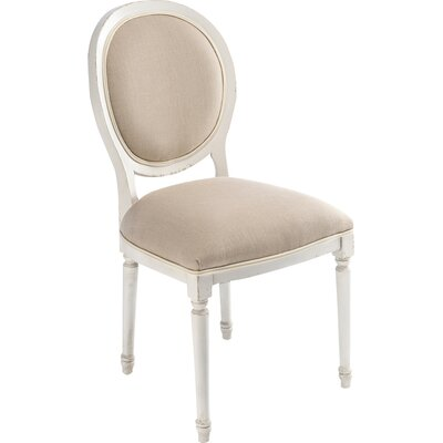 Round Back Upholstered Dining Chair