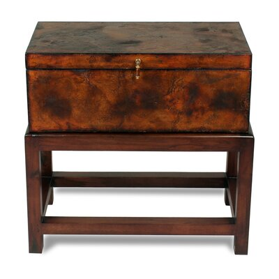 Ranch Hand Box On Stand End Table with Storage