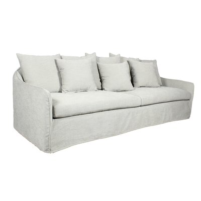 Frost Sofa Upholstery: White
