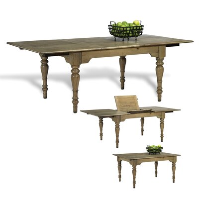 Clinton Hill Driftwood Extendable Dining Table