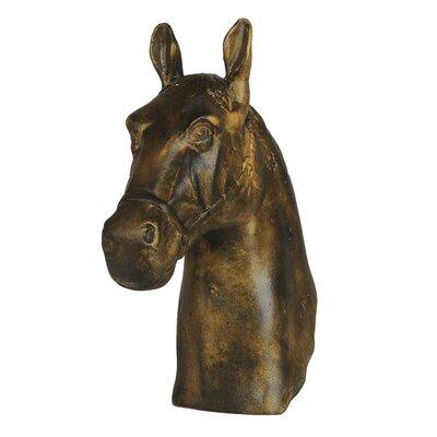 Cast Iron Horse Head Bust 40338
