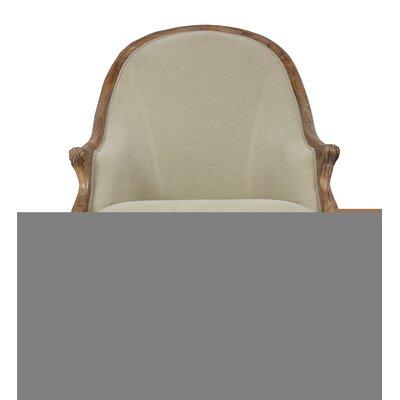 Leslie Salon Armchair Upholstery: Desert
