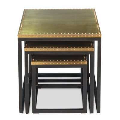 Industrial 3 Piece Nesting Tables