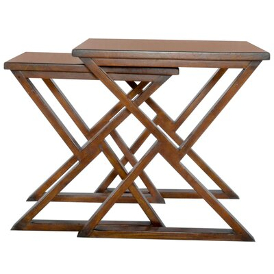 Triangle Play 2 Piece Nesting Tables