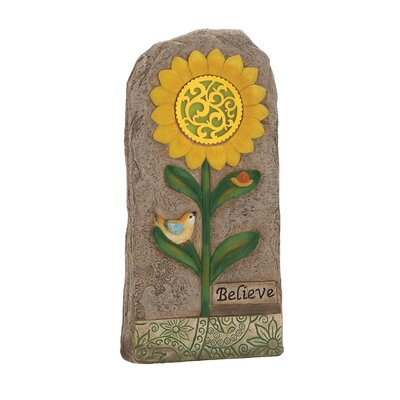Lovely and Attractive Solar Garden Stone 20684