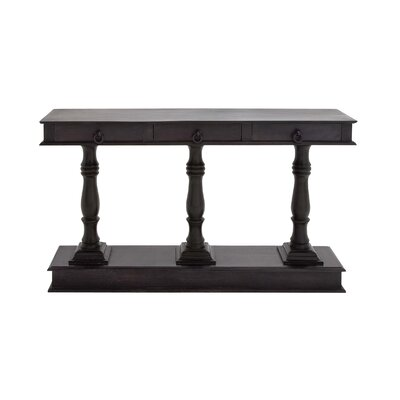 Console Table Color: Dark Gray