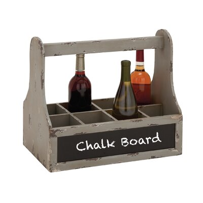 Unique 8 Bottle Tabletop Wine Rack