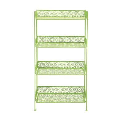 Metal �tag�re Bakers Rack Finish: Green