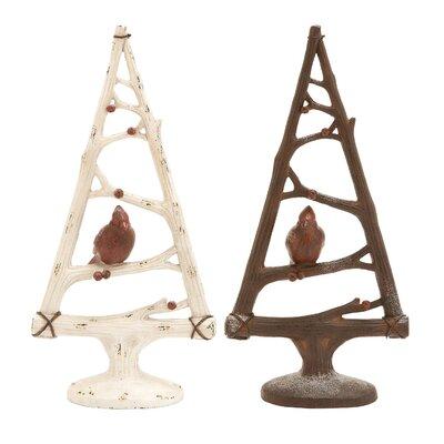 """Triangular Christmas Tree Size: 17"""" H x 8"""" W x 3.5"""" D 55699"""
