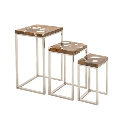 Superior Beauty 3 Piece Nesting Tables