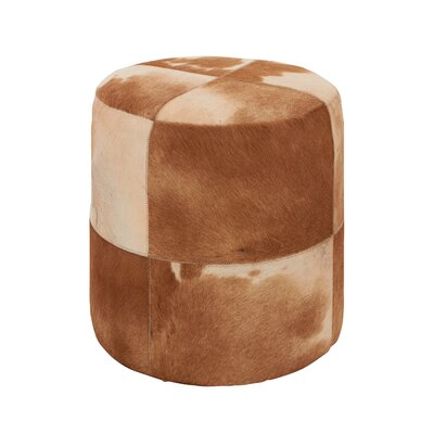 Attractive Leather Ottoman
