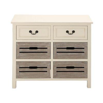 6 Drawer Dresser I Color: Gray