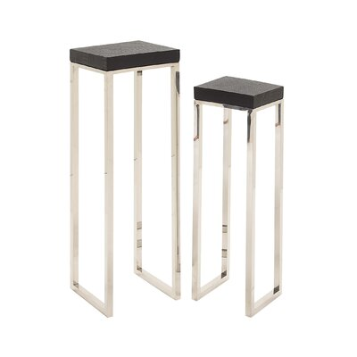 Alluring 2 Piece Nesting Tables