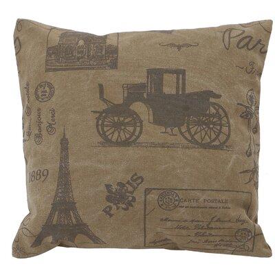 Cotton Throw Pillow Color: Beige