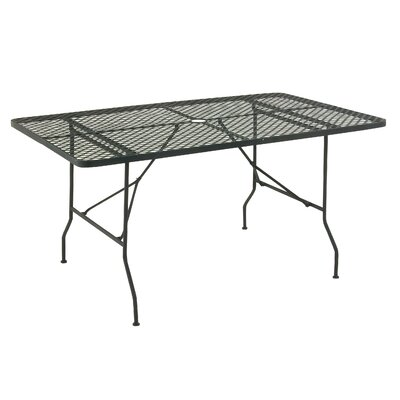 Dining Table Finish: Black, Table Size: 60 L x 36 W