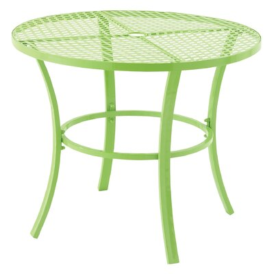 Dining Table Table Size: 46 L x 46 W, Finish: Green
