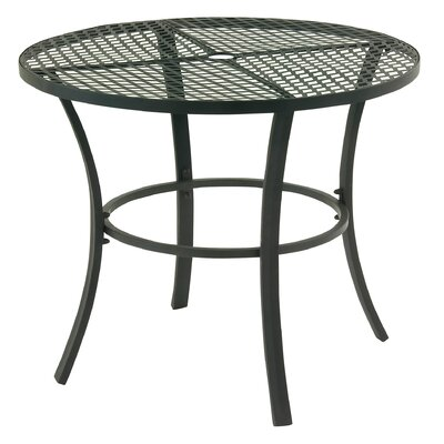 Dining Table Table Size: 46 L x 46 W, Finish: Grey