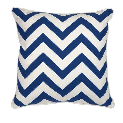 Essentials Throw Pillow Color: Marine Blue