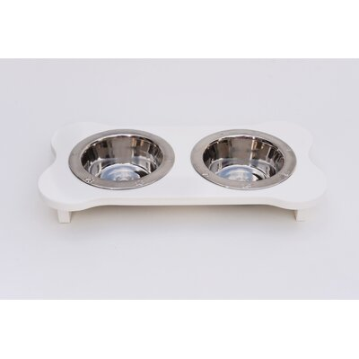 Double Bowl Elevated Feeder IDP-90010