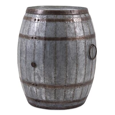 Vineyard Wine Barrel End Table