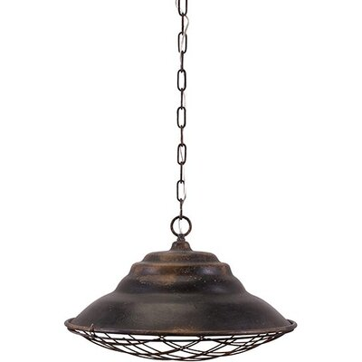 Stuart 1-Light Bowl Pendant