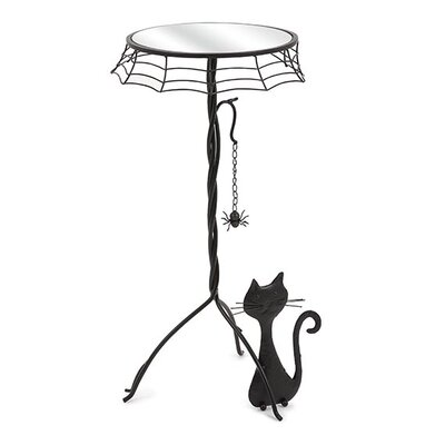 Black Cat End Table