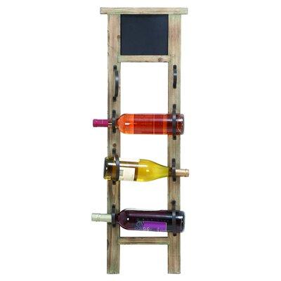 Bavaro 4 Bottle Wall Mounted Wine Rack