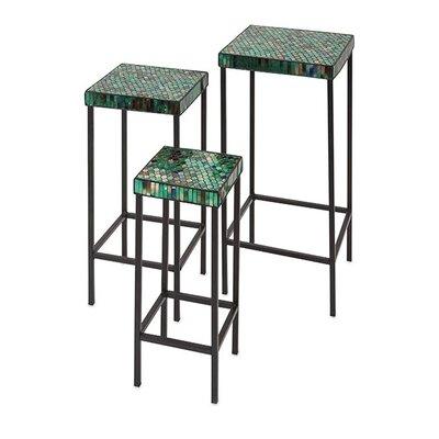 Darwin Mosaic 3 Piece End Table Set