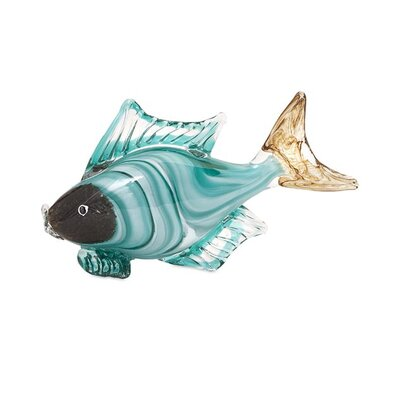 Croix Fish Statuary Figurine IMX-47661