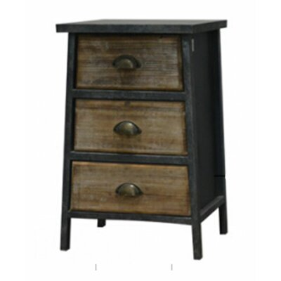 3 Drawer End Table