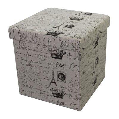 Paris Storage Ottoman