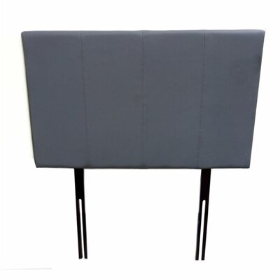 Panel Headboard Size: Full, Color: Mat Gray