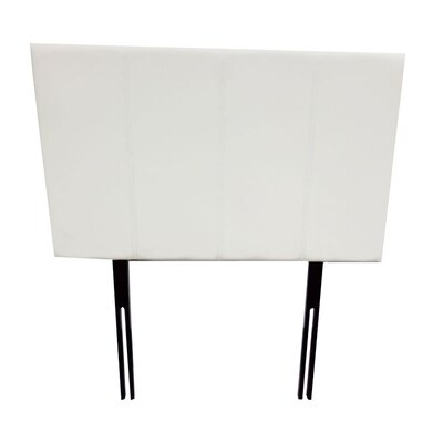 Panel Headboard Size: Queen, Color: Mat Beige
