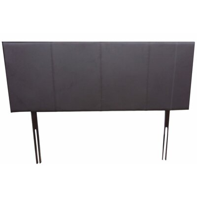 Panel Headboard Size: Full, Color: Mat Brown