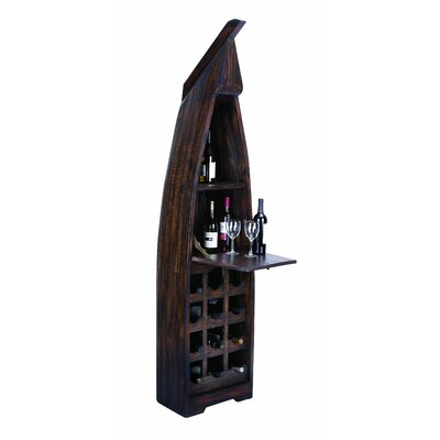 Boat 15 Bottle Floor Wine Rack