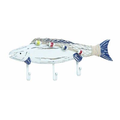 Wooden Fish Coat Hook 38739
